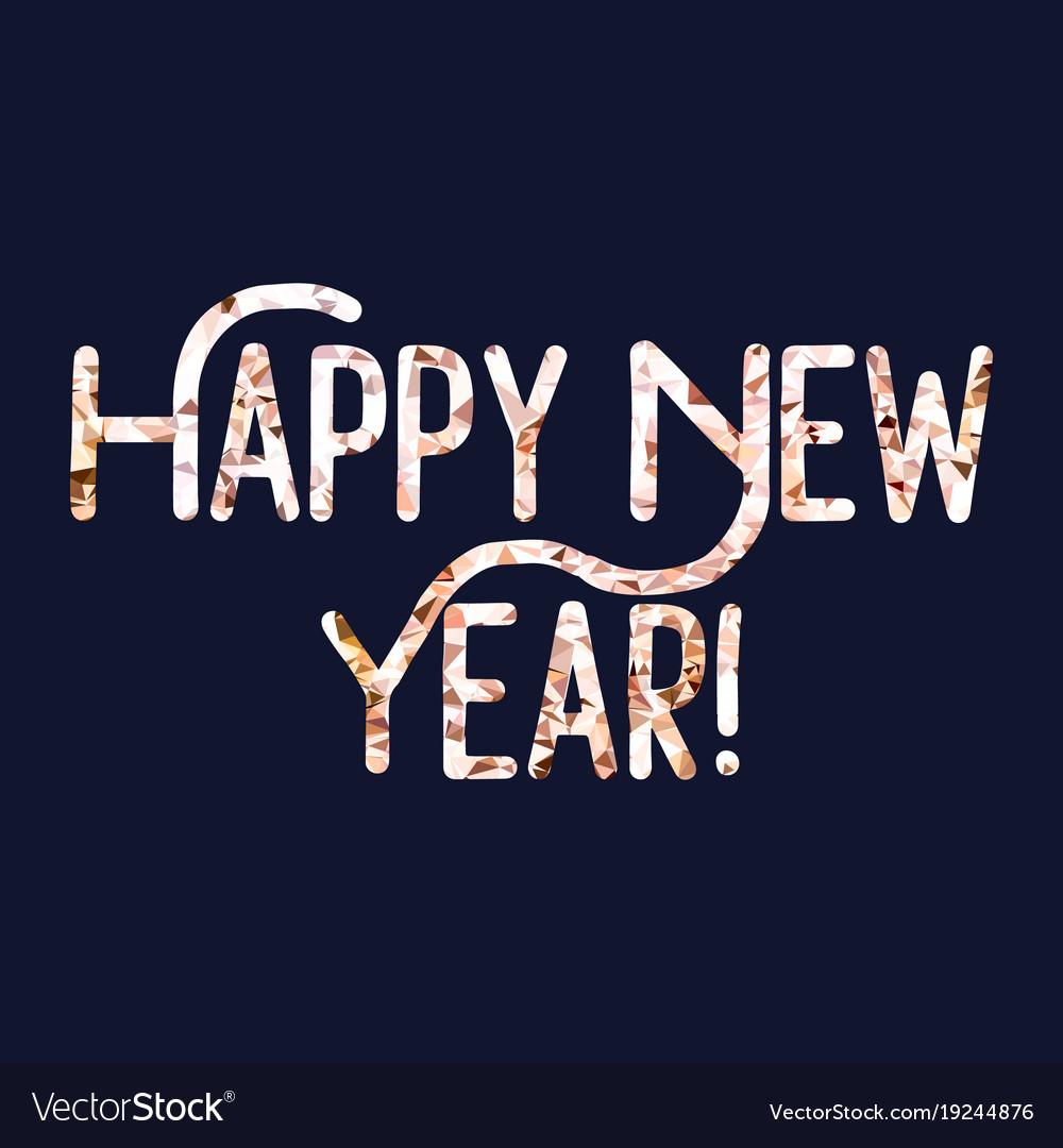 Happy 2018 new year holiday