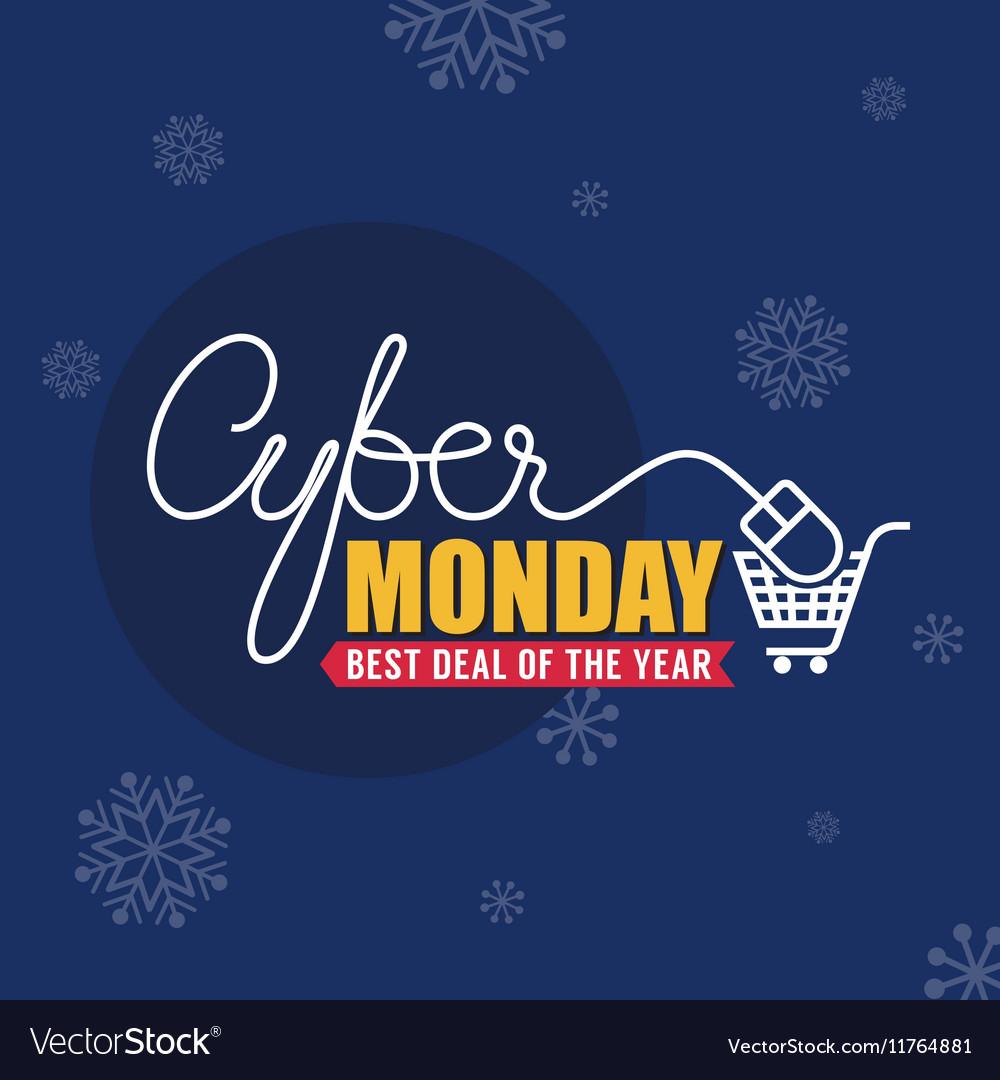 Cyber Monday Sale Background
