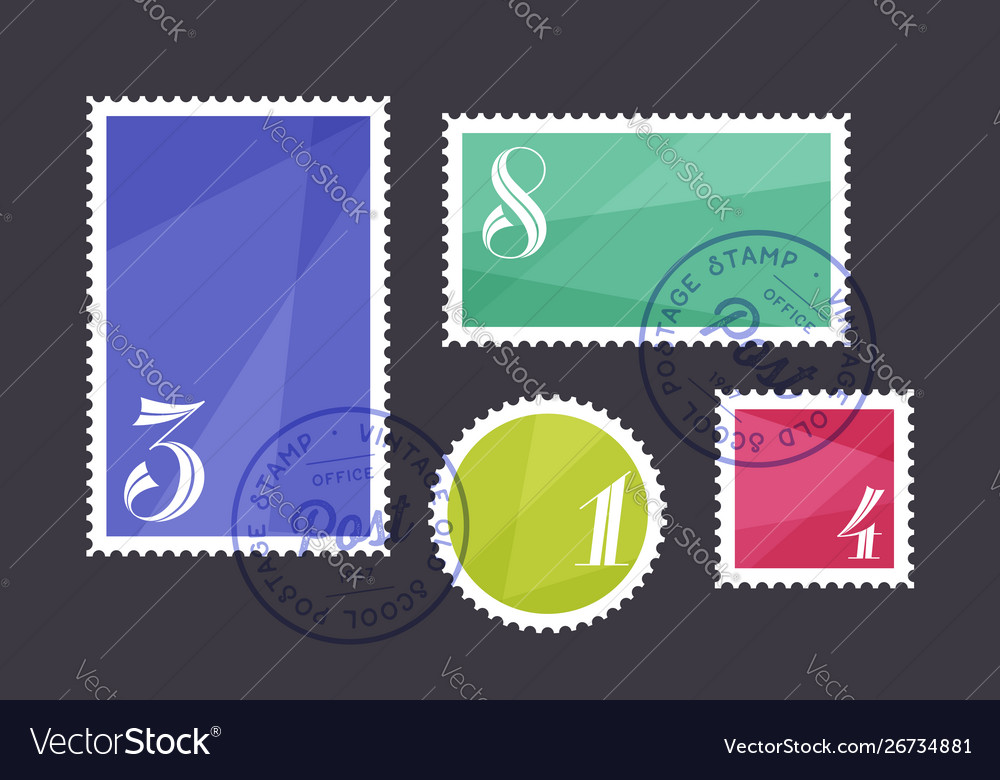 Postage stamp set postage stamp collection