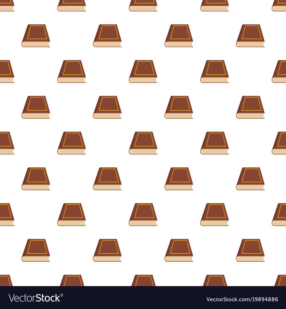 Book closed pattern seamless