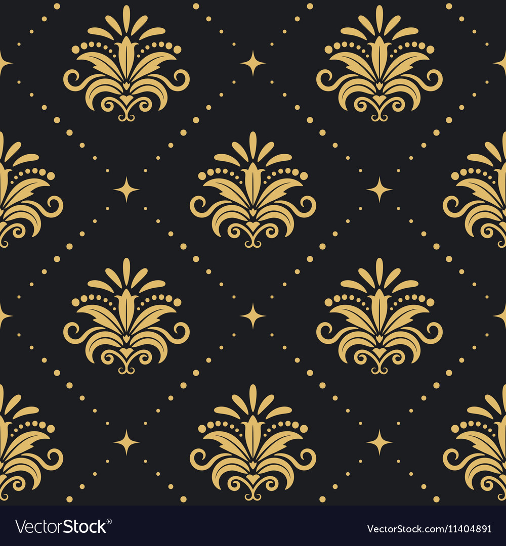 Floral royal background