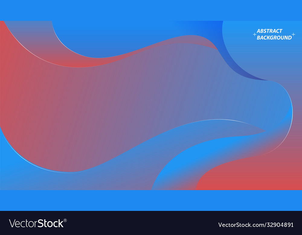 Trendy gradient shapes wavy geometric background