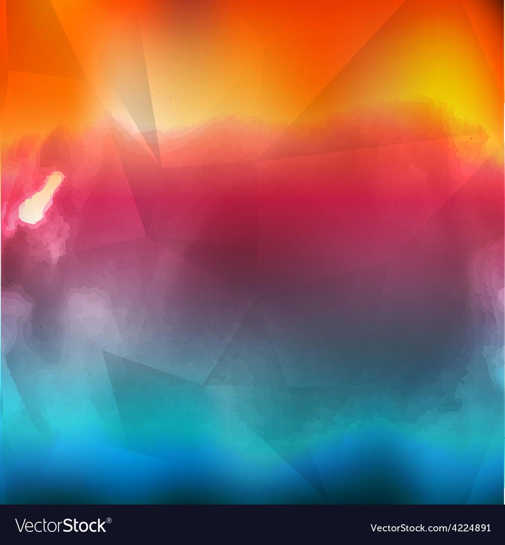 Water color cloud