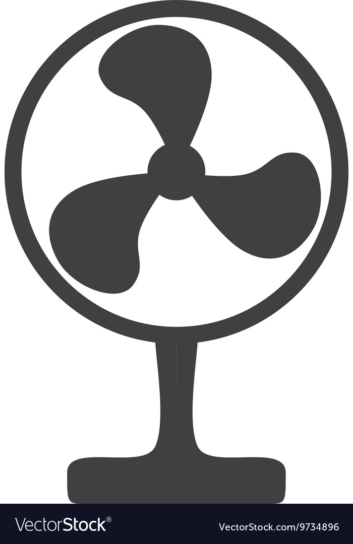 Fan icon Object of Home design graphic