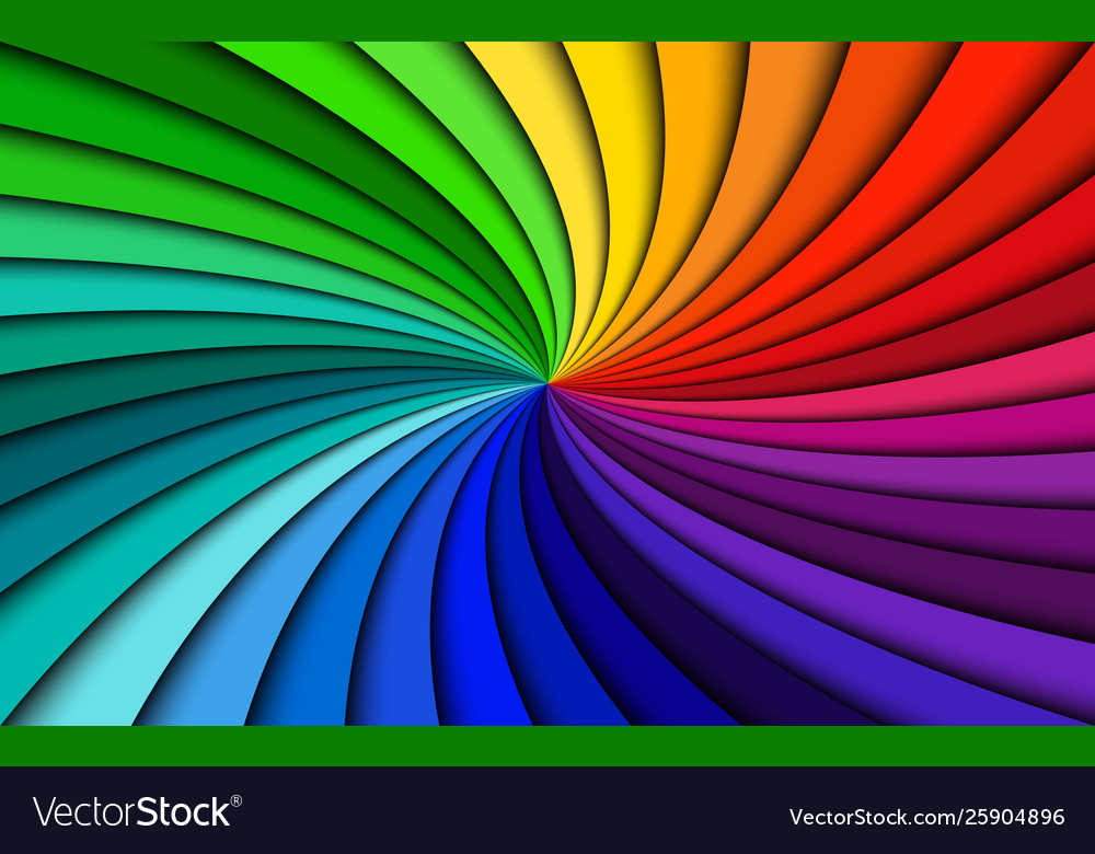 Rainbow modern swirl colorful abstract background
