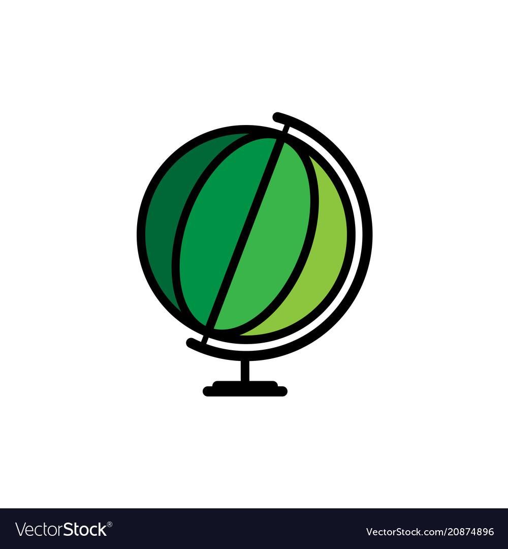 World globe icon world icon isolated on