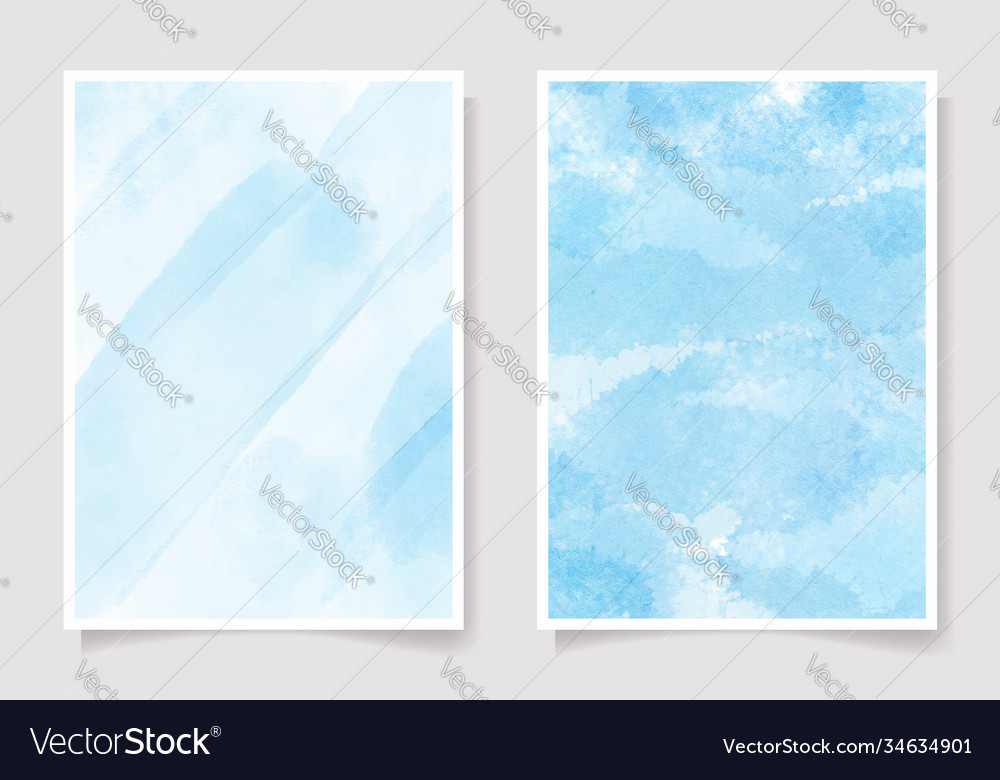 Beautiful navy blue watercolor wet wash splash