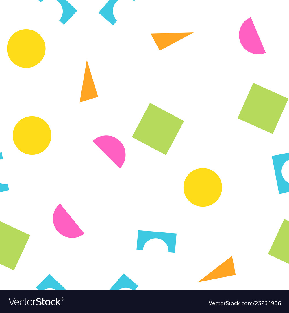 Colorful seamless pattern of building kit simple