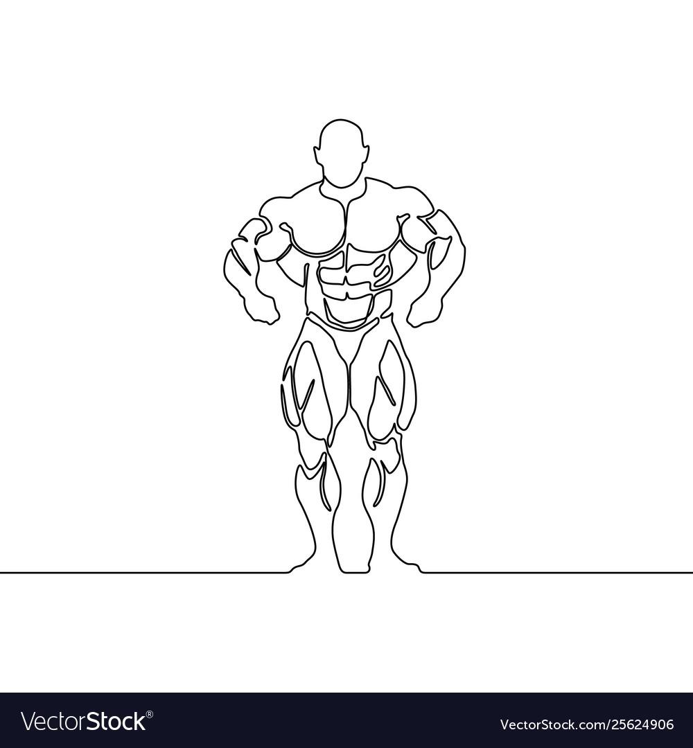 Continuous line bodybuilder
