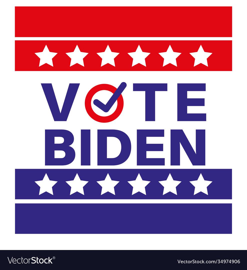 Vote biden us american presidential election 2020