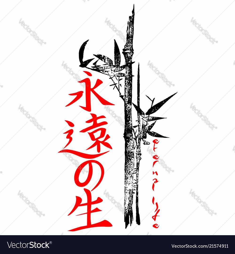Eternal life gospel in japanese kanji
