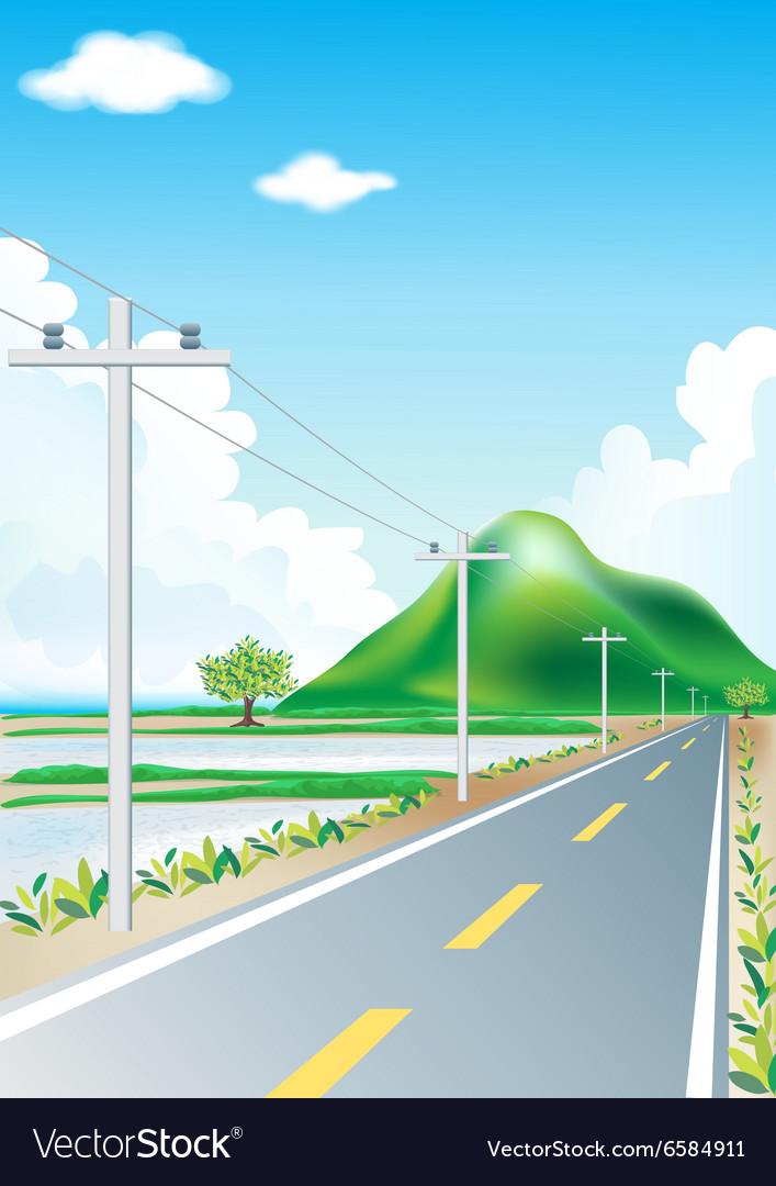Landscape road trip