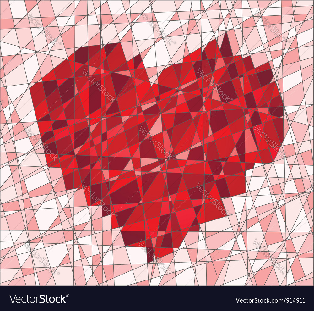 Mosaic with heart