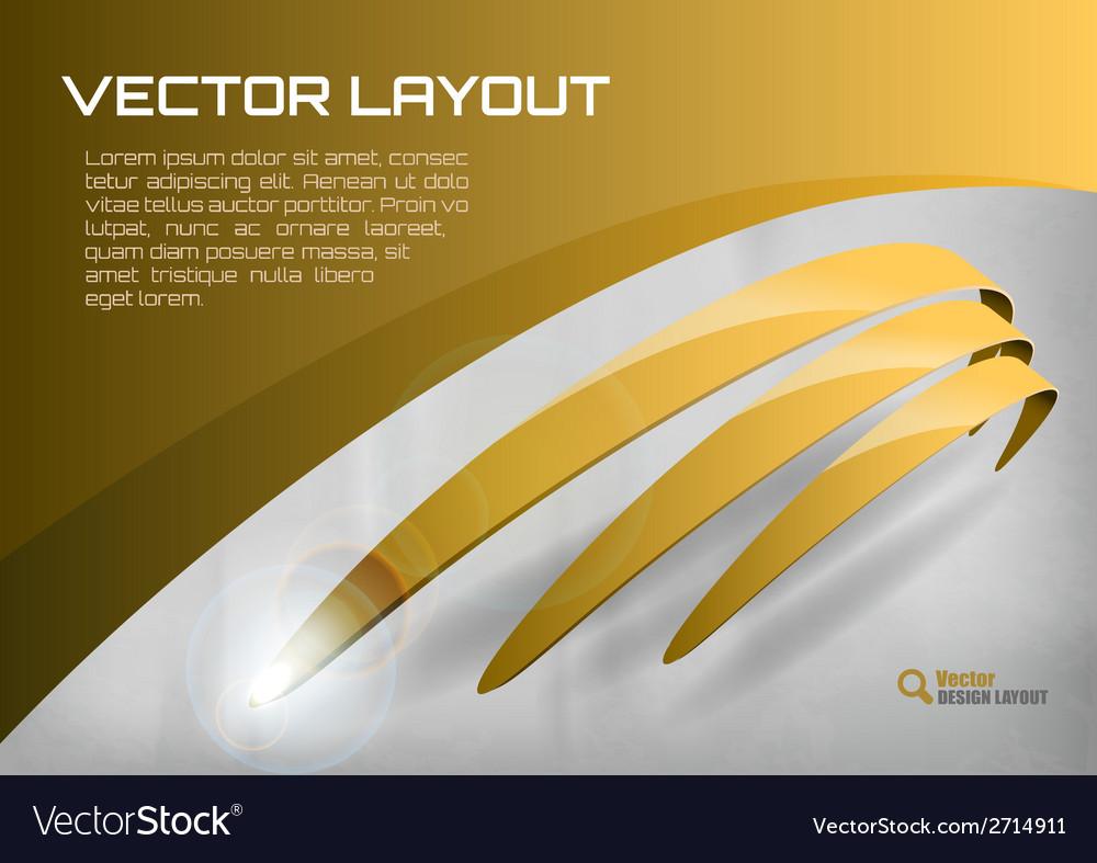 Stripes gold
