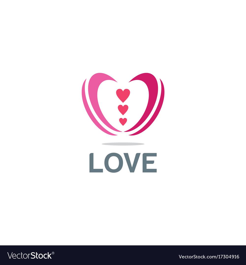 Love valentine logo