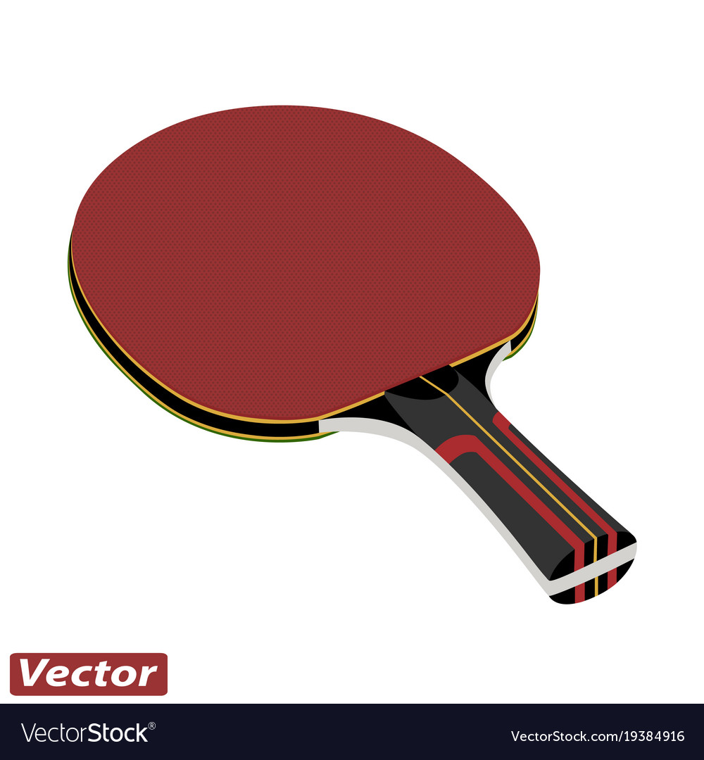Racket for ping pong in