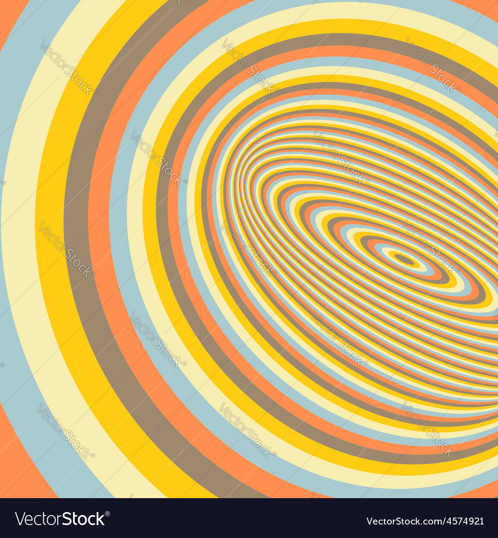 Abstract 3d geometrical background vector image