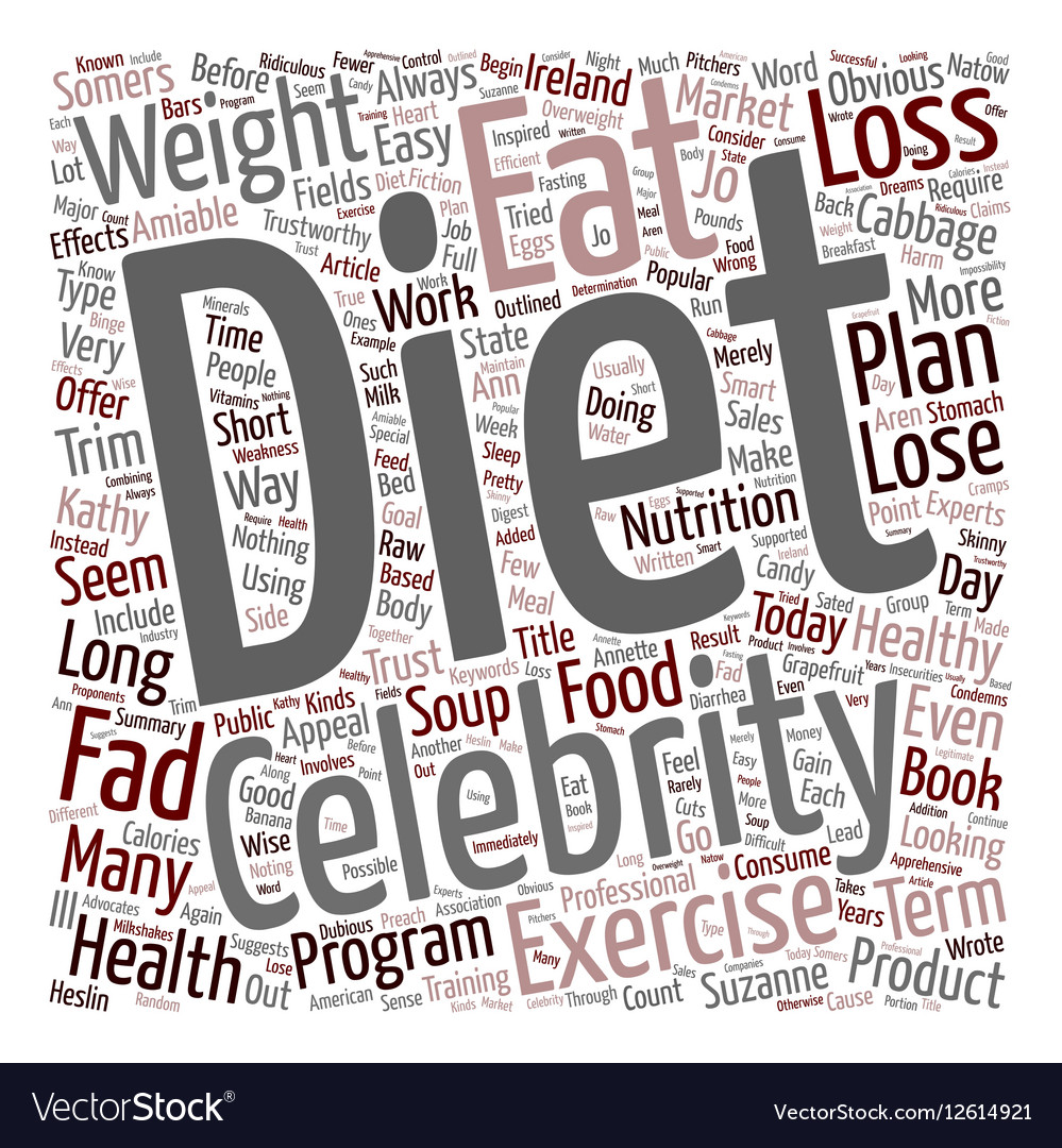 Do Popular Fad Diets Work text background