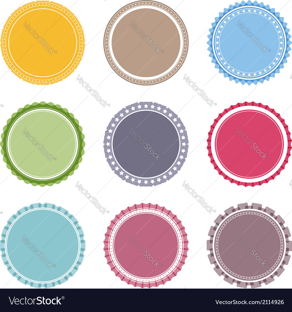 photograph regarding Free Printable Round Labels referred to as Blank Spherical Labels