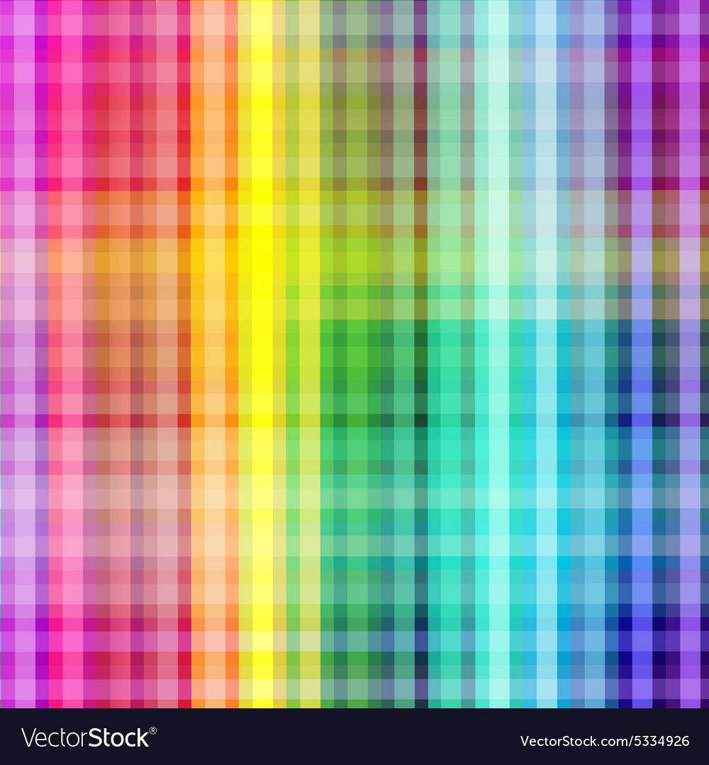 Multicolored geometric background