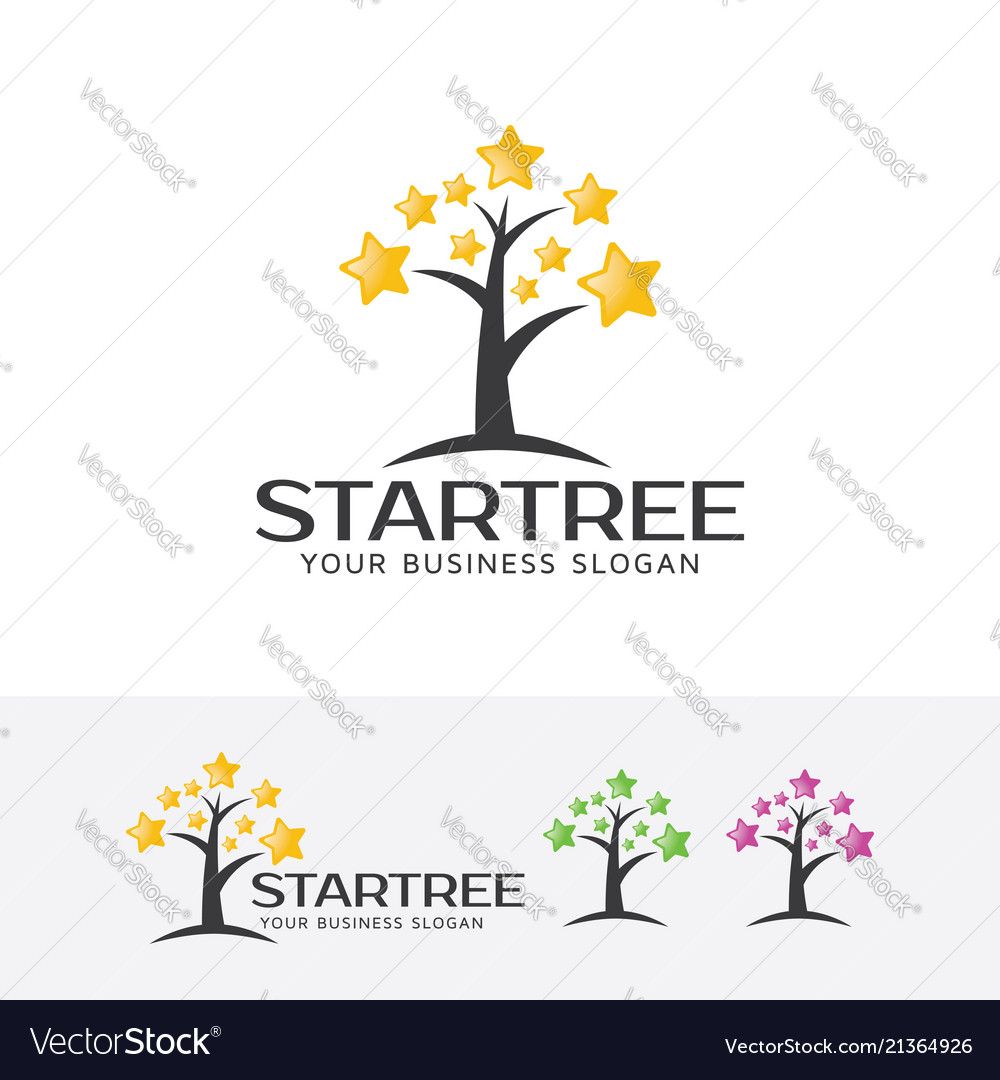 Star tree logo