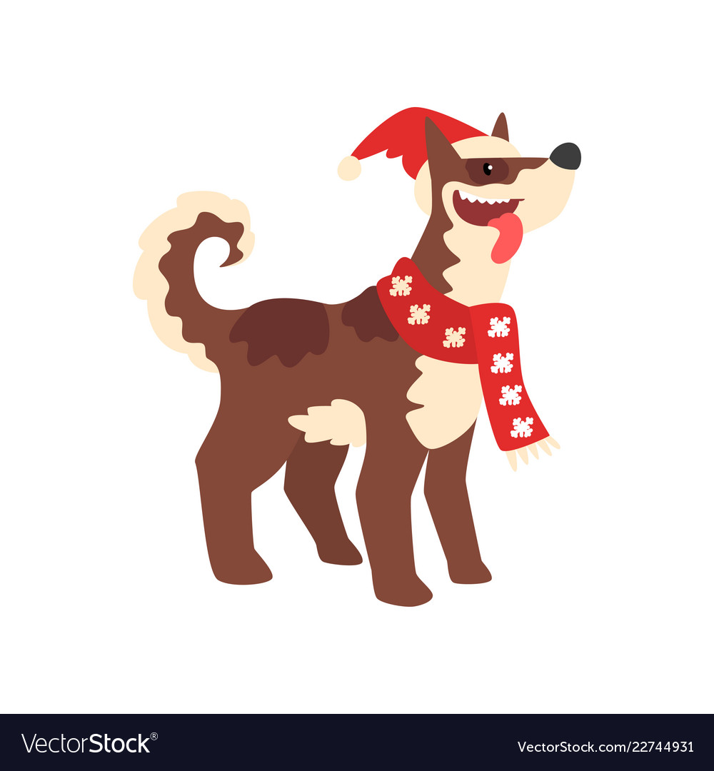 Dog symbol of new year cute animal of chinese