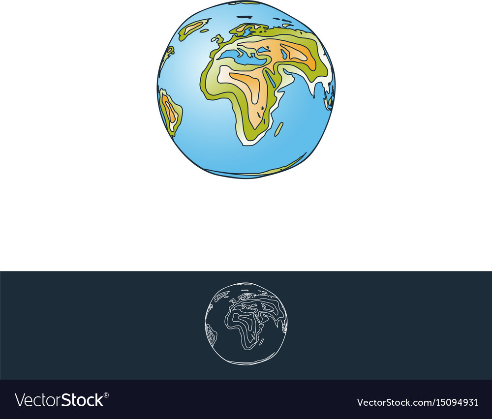 Earth layered for logo and other designs