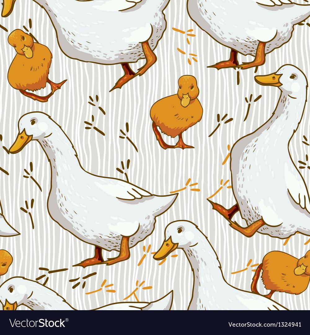 Cartoon Wallpaper with duck