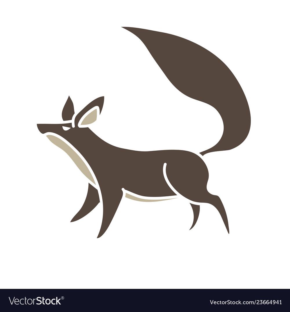 Fox cartoon graphic