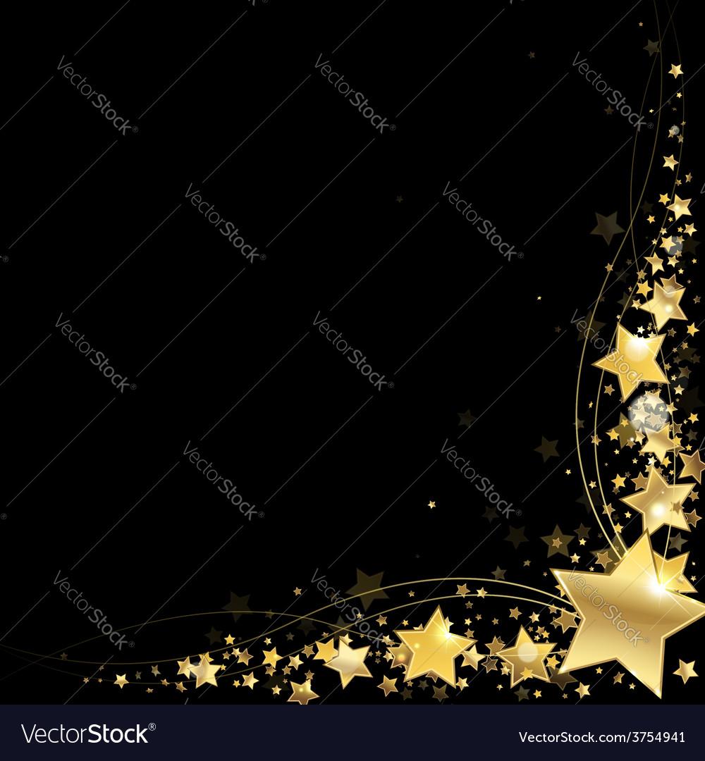 Frame of gold stars
