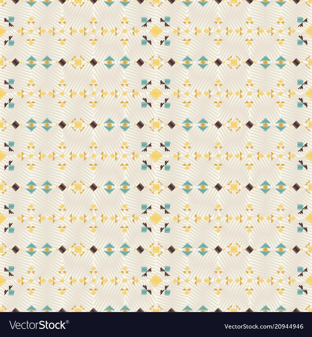 Geometric ethnic seamless pattern