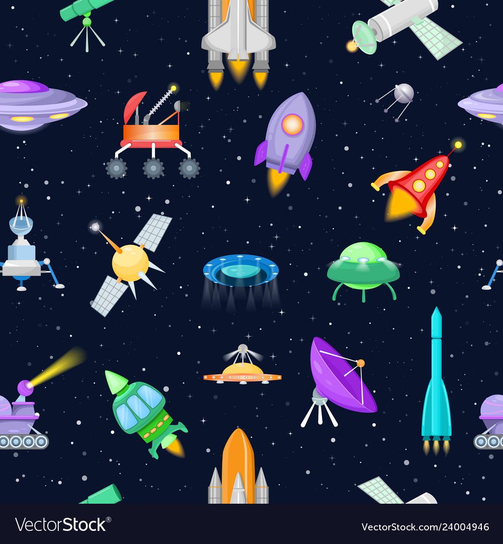 Rocket spaceship or spacecraft with