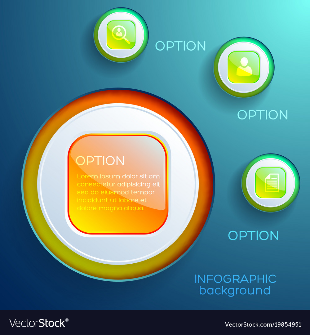 Business infographic design concept
