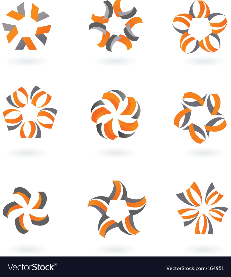 Star icons and logos