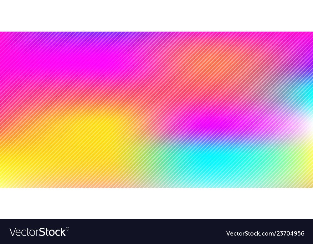 Abstract Colorful Rainbow Blurred Background With