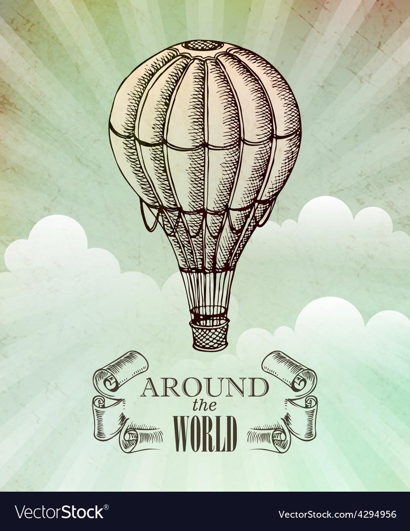 Aeronautic adventure vintage