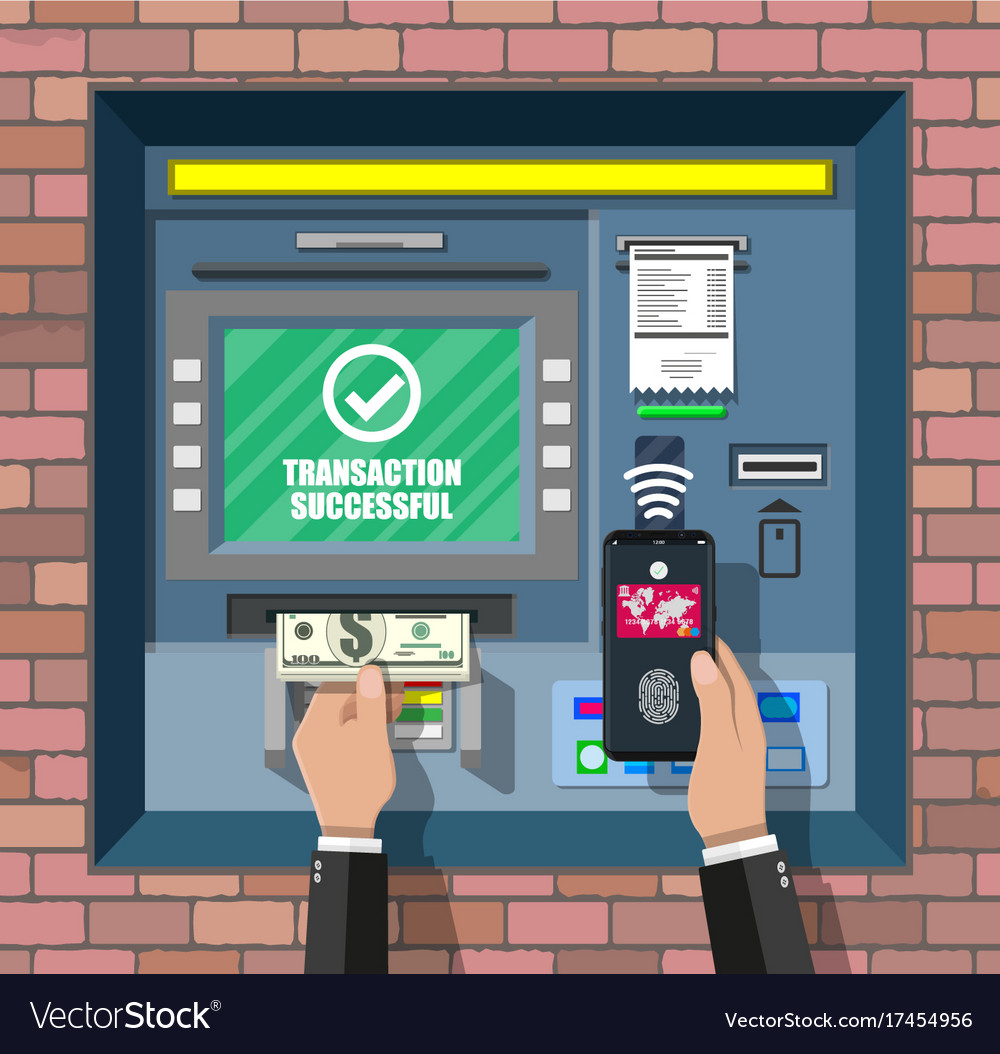 Bank atm automatic teller machine