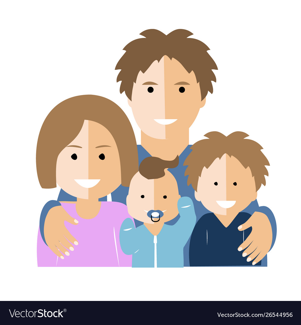 Flat with parents and children