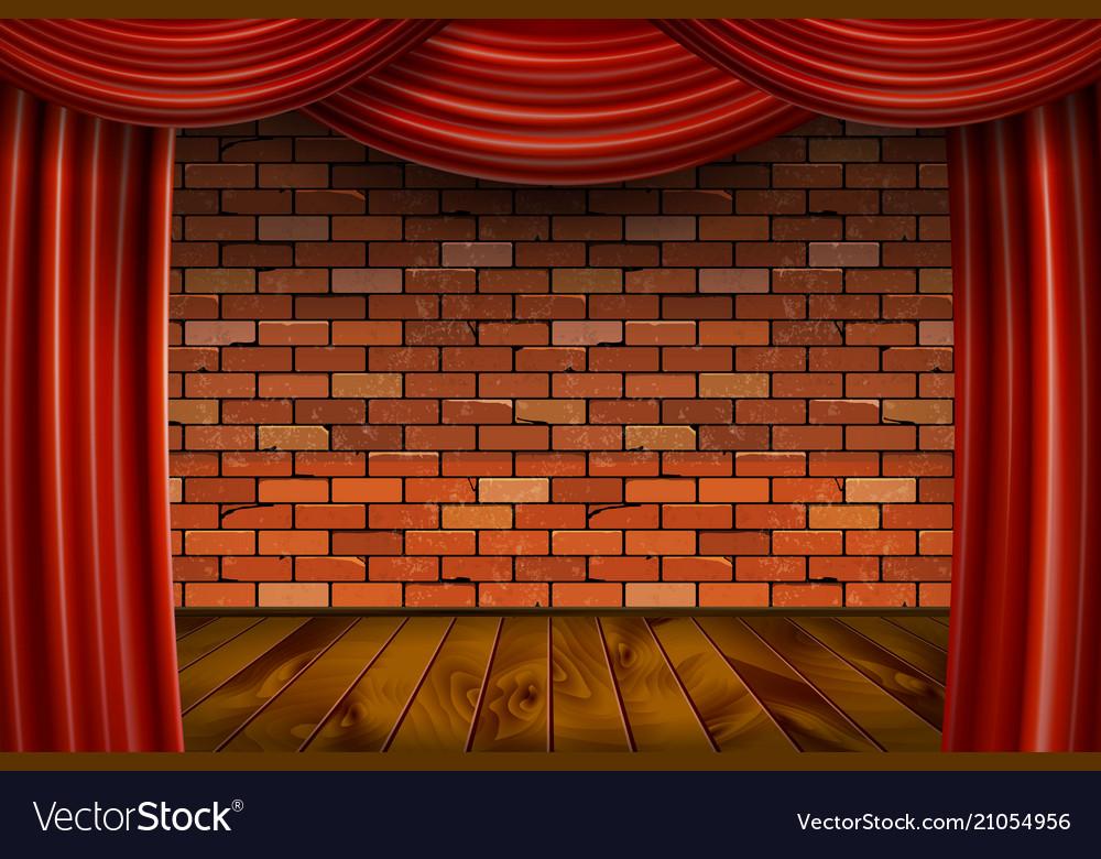 Brick Wall Background Royalty Free Vector