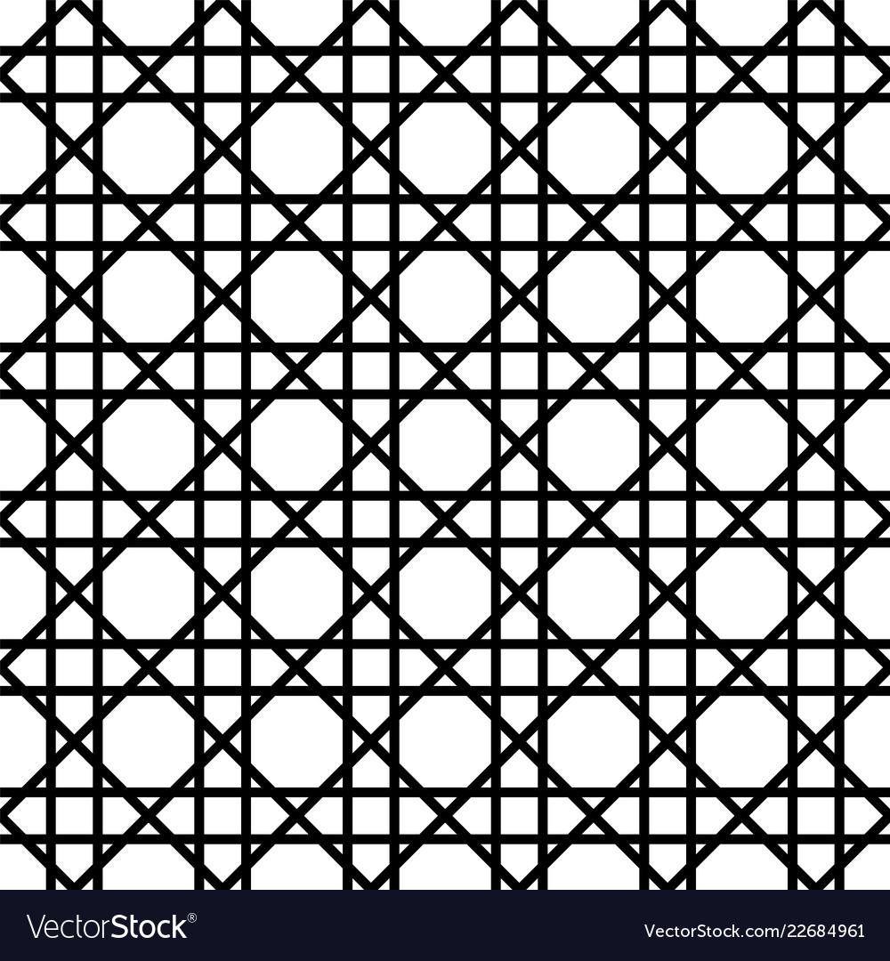 Abstract geometric pattern with lattice tiles