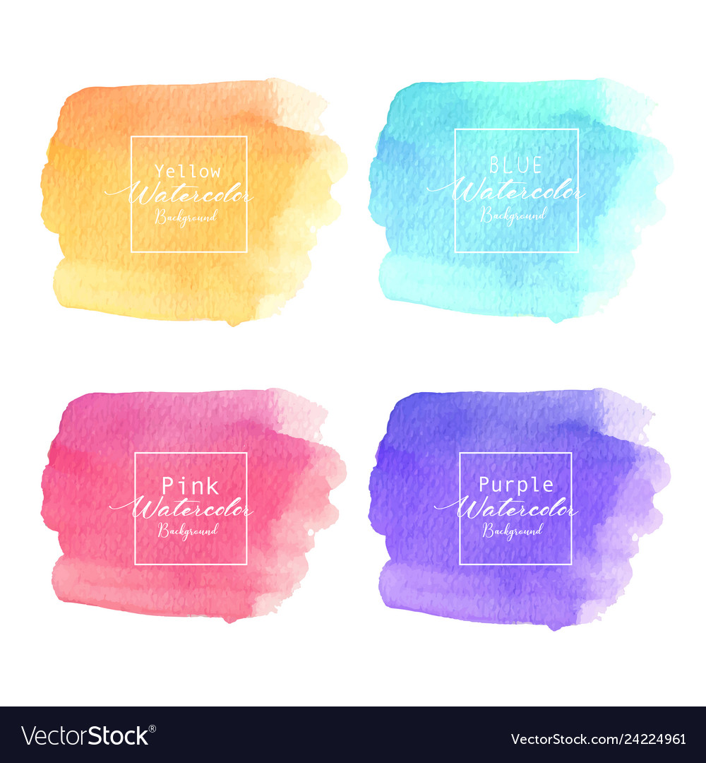 Colorful abstract watercolor background
