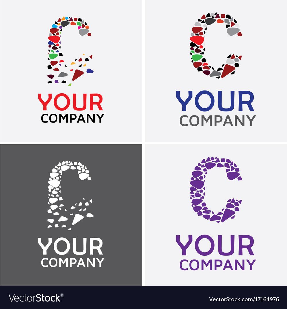 Alphabet c logo design