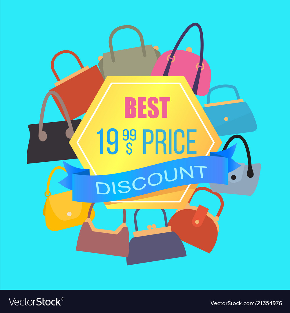Best price discount sale color advertising banner