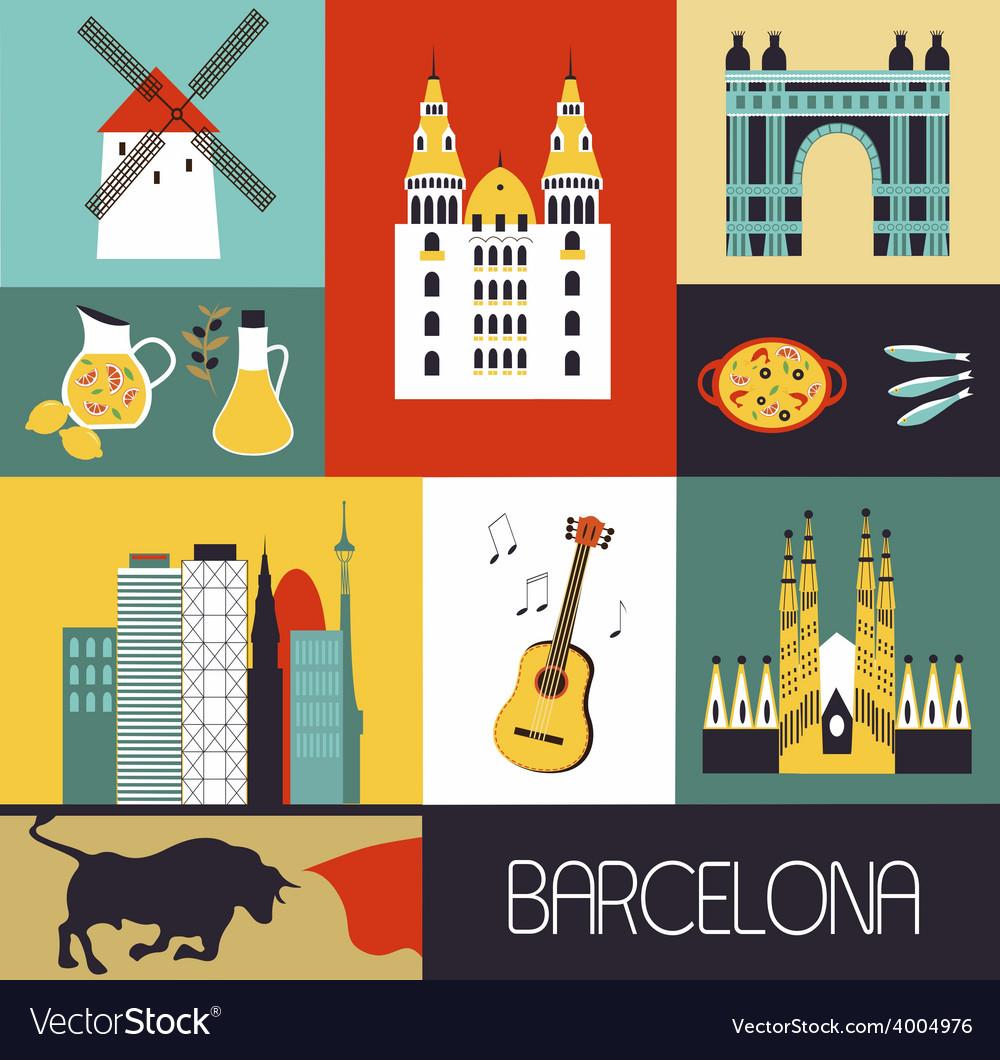 Symbols of Barcelona