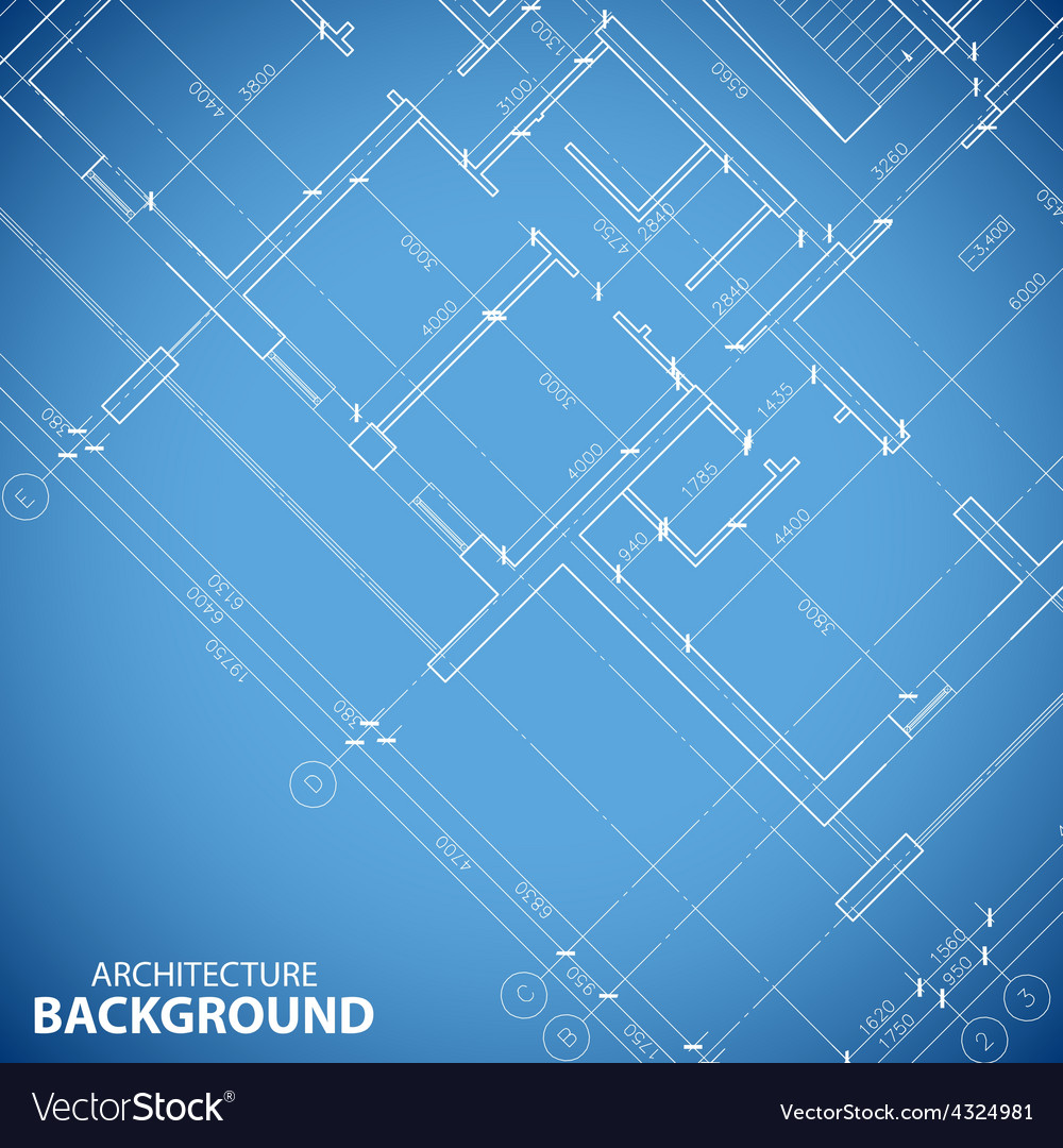 Blueprint building plan background royalty free vector image blueprint building plan background vector image malvernweather Gallery