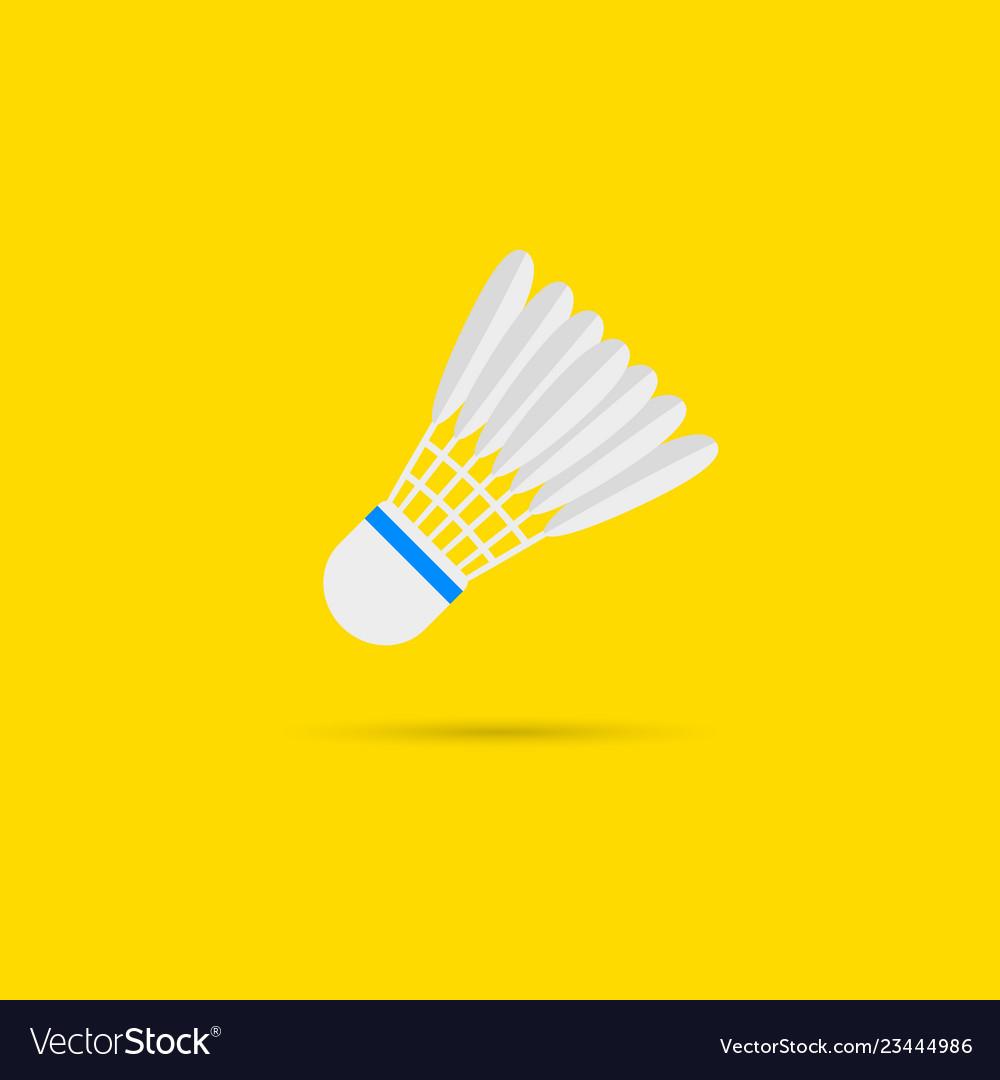 Badminton shutlecock icon
