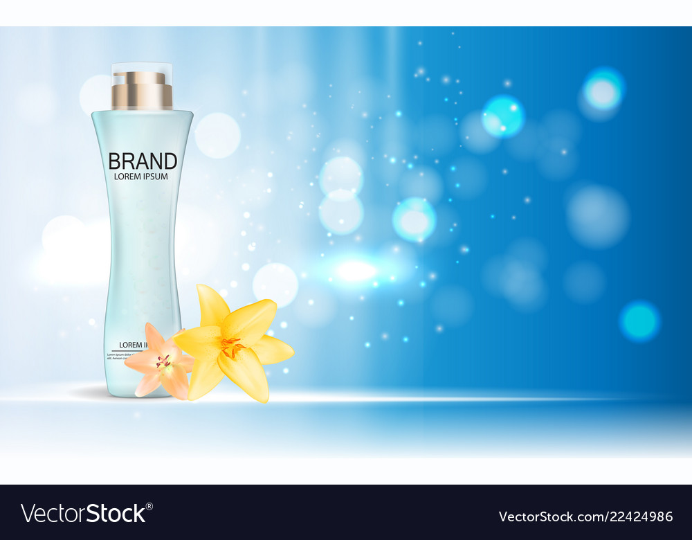 Design cosmetics product template for ads o