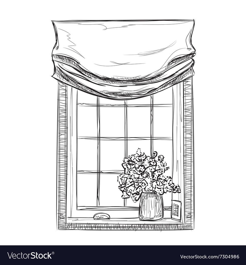 Hand drawn Windows Sketch