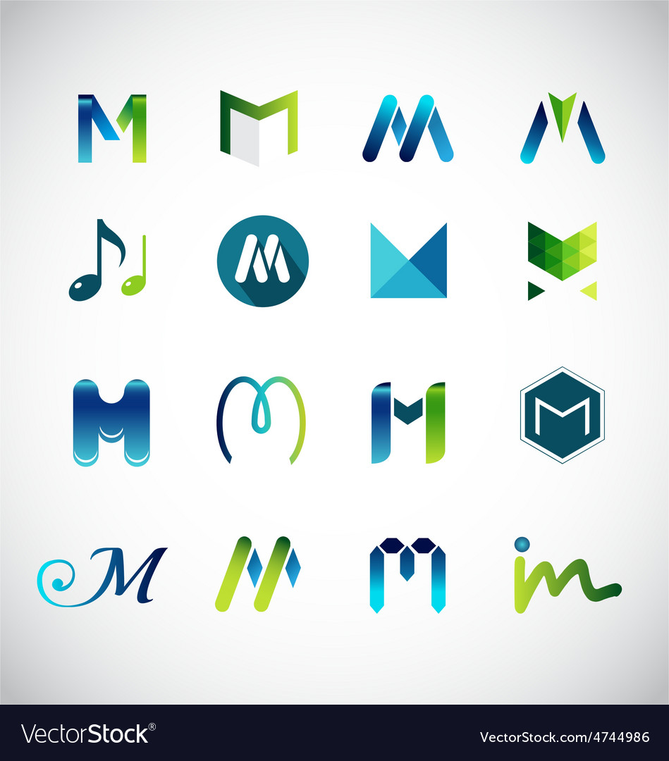 Logo Design Based On Letter M