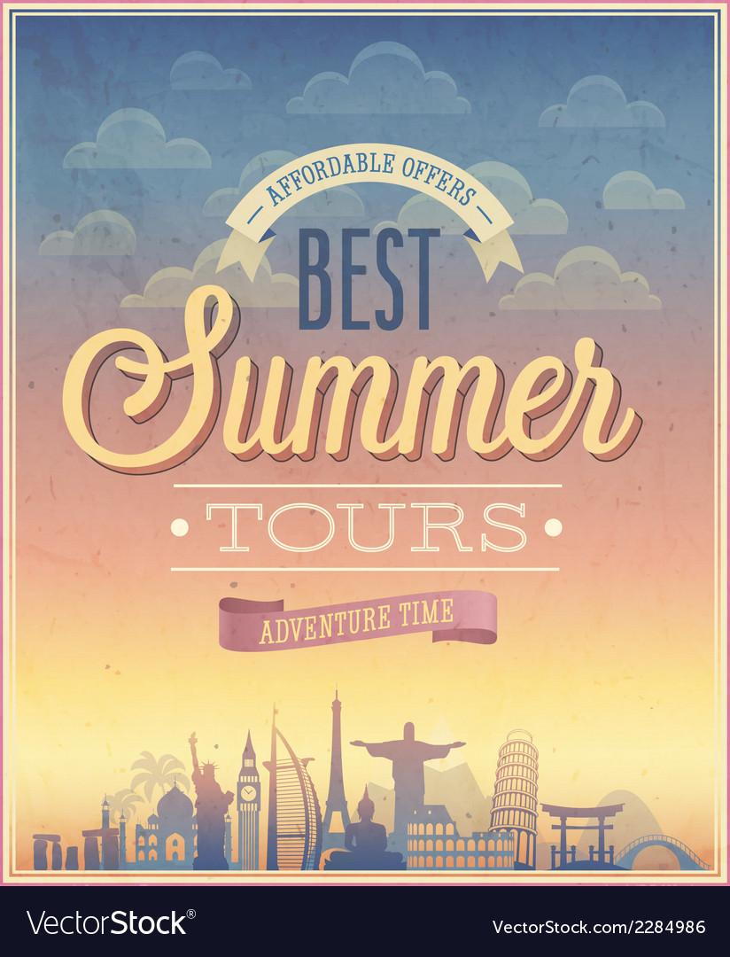 Summer tours